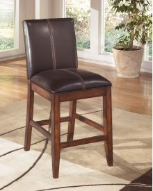 Larchmont - Burnished Dark Brown Set Of 2 Dining Room Barstools