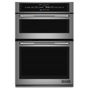 "Jenn-AirPro-Style® 30"" Microwave/Wall Oven with V2 Vertical Dual-Fan Convection System Pro Style Stainless"