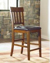 Ralene - Medium Brown Set Of 2 Dining Room Barstools