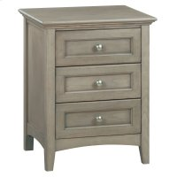 FST 3-Drawer McKenzie Nightstand Product Image