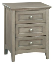FST 3-Drawer McKenzie Nightstand