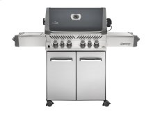 Napoleon Prestige Series Prestige 500 charcoal grey with Infrared Rear and Side Burners.