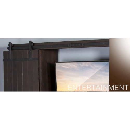 "105""W Barn Door Ent. Wall"