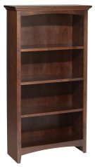 "CAF 48""H x 24""W McKenzie Alder Bookcase Product Image"