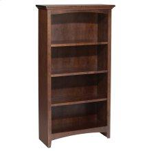"""CAF 48""""H x 24""""W McKenzie Alder Bookcase"""