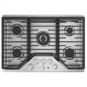 "30"" Built-In Tri-Ring Gas Cooktop with 5 Burners and Optional Extra-Large Integrated Griddle"