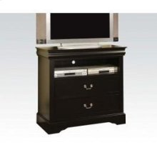Black L.p TV Console