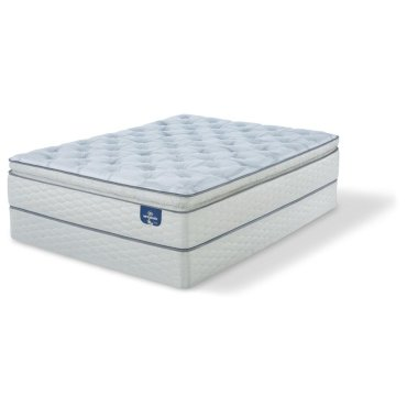 Sertapedic - Alverson - Super Pillow Top - Firm - Queen