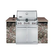 SUMMIT® S-460™ LP GAS GRILL - STAINLESS STEEL