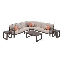 Cordova Reef - Dark Brown 8 Piece Patio Set