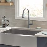 American StandardEdgewater Pull-Down Kitchen Faucet with SelectFlo - Stainless Steel