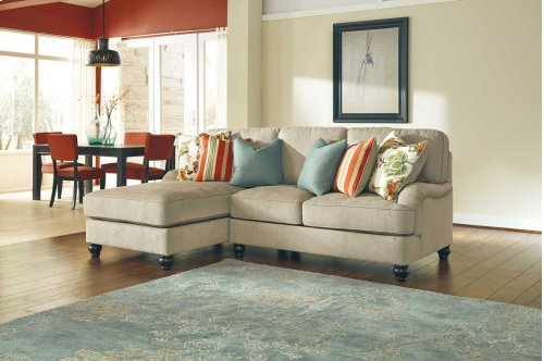 Kerridon 5-Pc Sectional LAF Corner Chaise, Armless Loveseat, Wedge, Armless Chair and RAF Loveseat