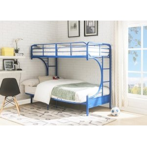 BLUE T/F BUNKBED