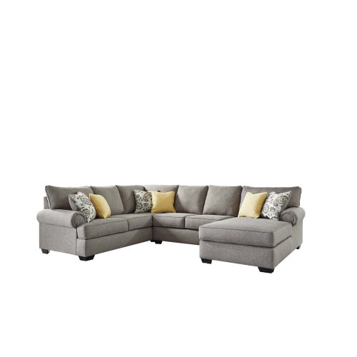 RAF Chaise 3 Pc Sectional