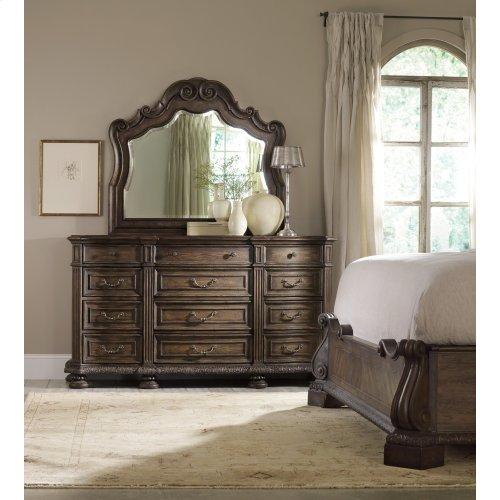 Bedroom Rhapsody Twelve Drawer Dresser