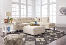 Kirwin Nuvella® - Sand 2 Piece Sectional