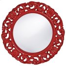Glendale Mirror - Glossy Red Product Image