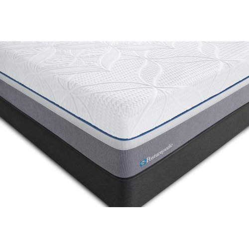 Posturepedic Premier Hybrid Series - Silver - Plush - Queen - FLOOR MODEL