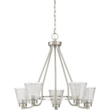Ardmore Chandelier in Brushed Nickel
