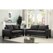 PLATINUM II GRAY SOFA/LOVESEAT Product Image