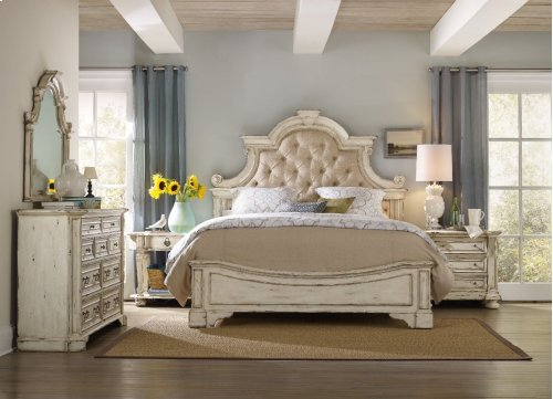 Bedroom Sanctuary California King Upholstered Bed