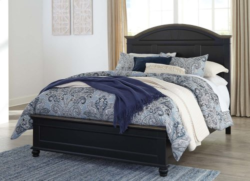 Froshburg - Two-tone 3 Piece Bed Set (Queen)