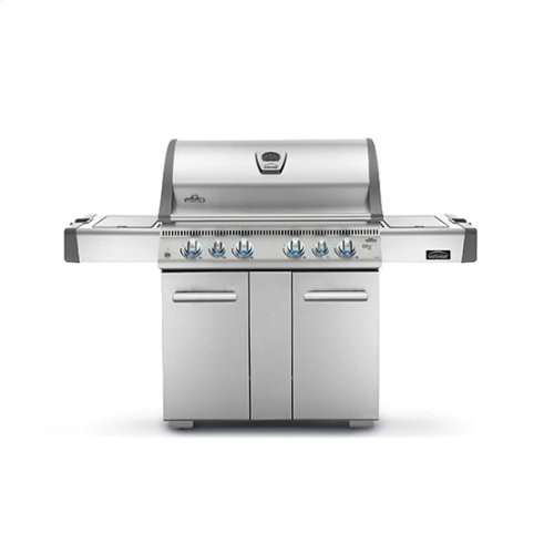 Mirage 605 with Side Burner and Infrared Bottom & Rear Burners