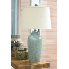 Ceramic Table Lamp (1/CN) Table Lamp - Green Collection Ashley at Aztec Distribution Center Houston Texas