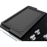 Maytag 36-Inch Electric Cooktop with Reversible Grill and Griddle