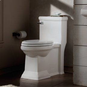 Town Square Right Height Elongated One-Piece Toilet with Right Hand Trip Lever  American Standard - White