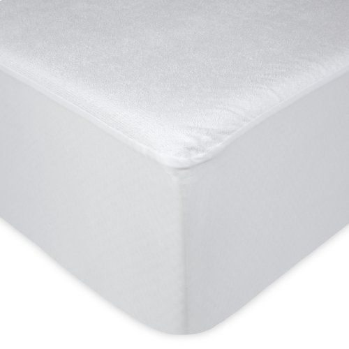 Sleep Calm Mattress Protector with Stain and Dust Mite Defense, Queen