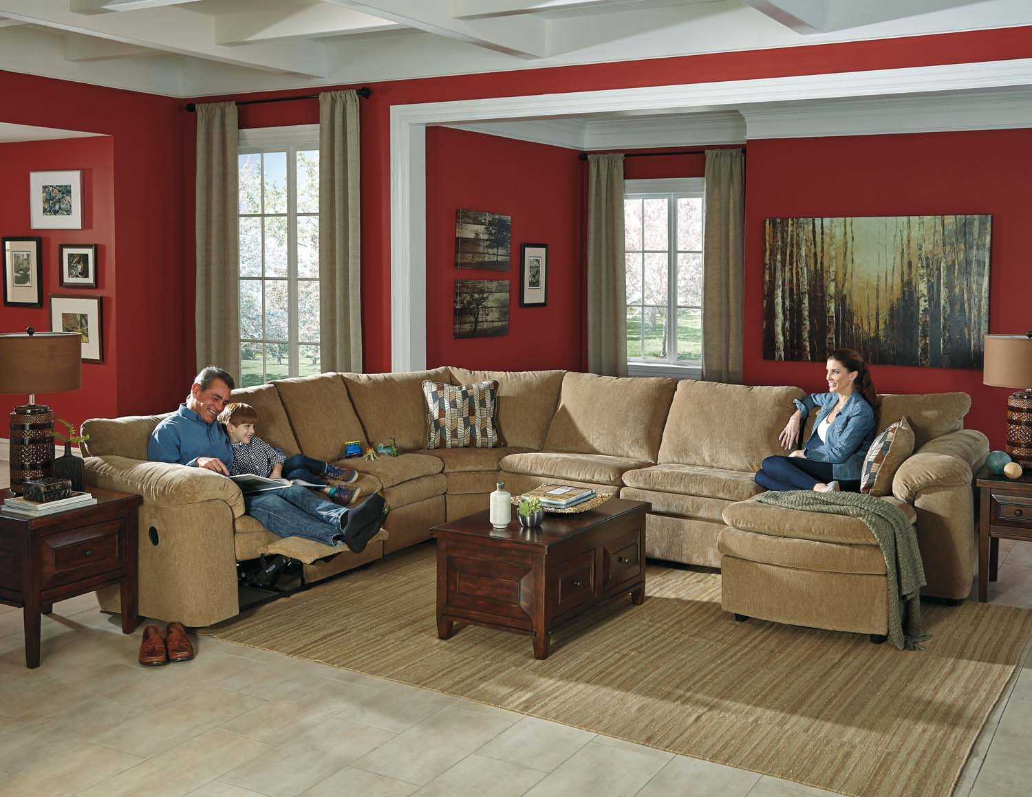 44100S4 in by Ashley Furniture in Kissimmee FL Coats Dune 4