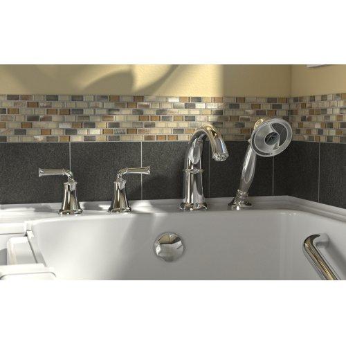 Value Series 32x52-inch Walk-in Tub  Outward Opening Door  American Standard - Linen