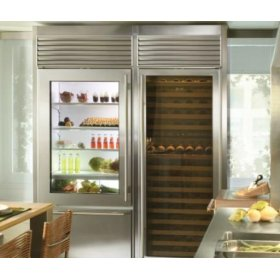 Classic Stainless 650G Glass Door