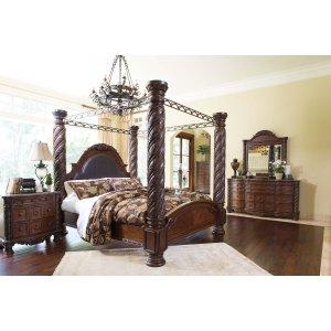 Ashley Furniture North Shore - Dark Brown 7 Piece Bedroom Set