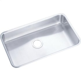 "Elkay Lustertone Classic Stainless Steel 30-1/2"" x 18-1/2"" x 4-3/8"", Single Bowl Undermount ADA Sink"