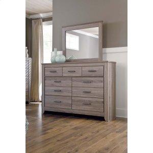 Ashley Furniture Zelen - Warm Gray 2 Piece Bedroom Set