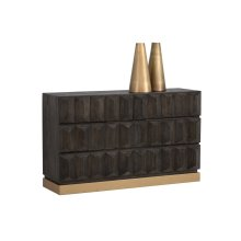 Troy Credenza Table - Gold