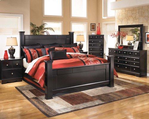 Shay 3 Pc. Bedroom - Dresser, Mirror & Headboard