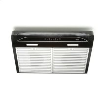 Alta 30-inch 400 CFM Black Range Hood with LED light
