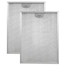 """Aluminum Replacement Grease Filter with Antimicrobial Protection for 42"""" QP2 Series"""