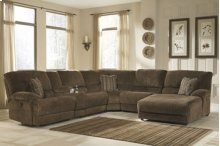 6-Piece Sectional with RAF Chaise