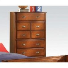 Oak Chest - 5 Drawer @n