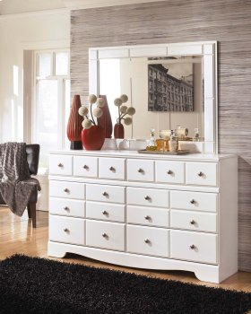 Weeki - White 2 Piece Bedroom Set
