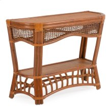"""40"""" x 15.5"""" Curved Console Table"""