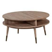 La Jolla Round Cocktail Table