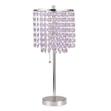 """TABLE LAMP, 19""""H"""
