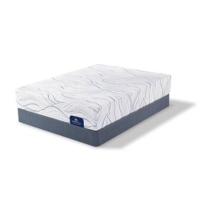 SertaPerfect Sleeper - Foam - Carriage Hill - Tight Top - Plush - Queen