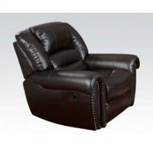 Brown Bonded Leather Recliner