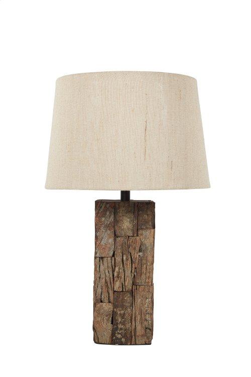 Wood Table Lamp (1/CN)